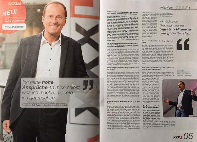 Print-Texte, Interview